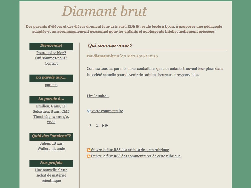 Association Diamant Brut